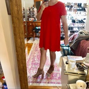 Stitchfix Lux and co Linley scallop detail dress